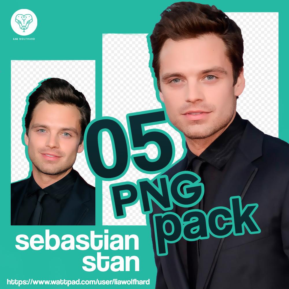 Sebastian Stan Png Pack.