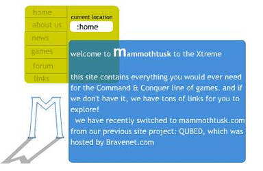 mtusk Flash Website by mtusk