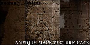 Antique Maps Texture Pack