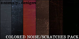 Large Colored Noise-Sratches