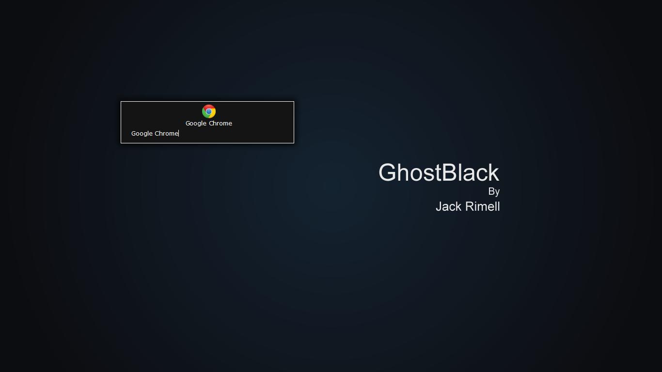 GhostBlack by Silverlight513