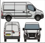 Nissan NV400 outline by fake173