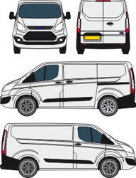 Ford Transit courier outline