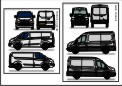 ford Transit vectors pack by fake173