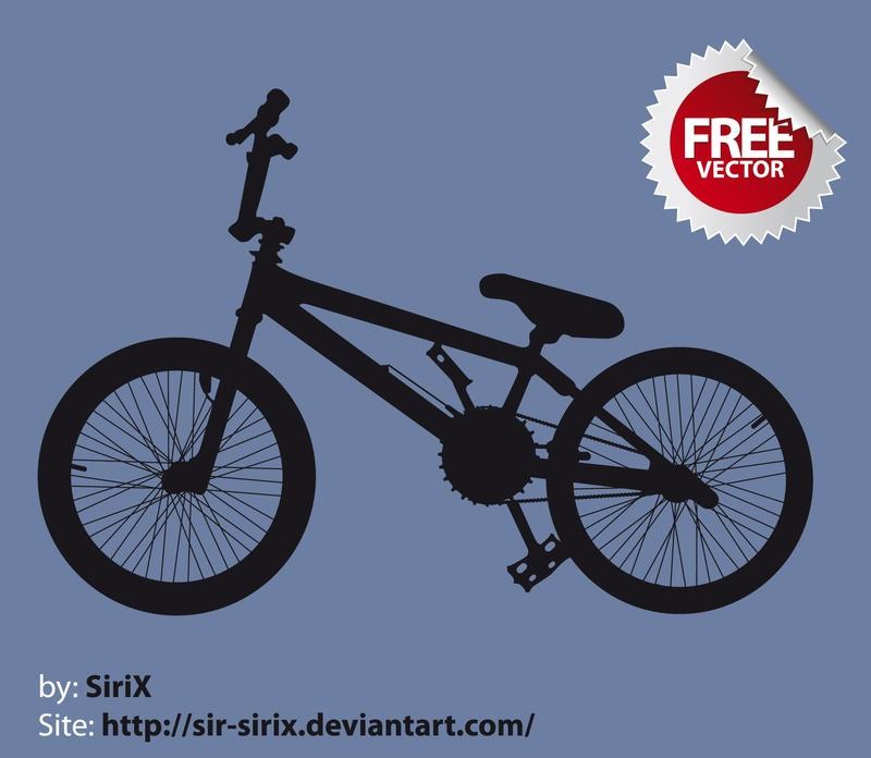 bmx free vector by sir sirix on deviantart