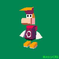 picoCAD Rayman