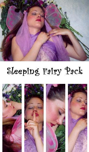 Sleeping Fairy Pack by PCM-Stock