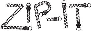 Zip It Illustrator Brush