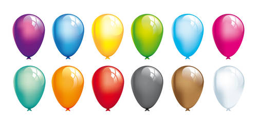 Balloons Vector by StooStock