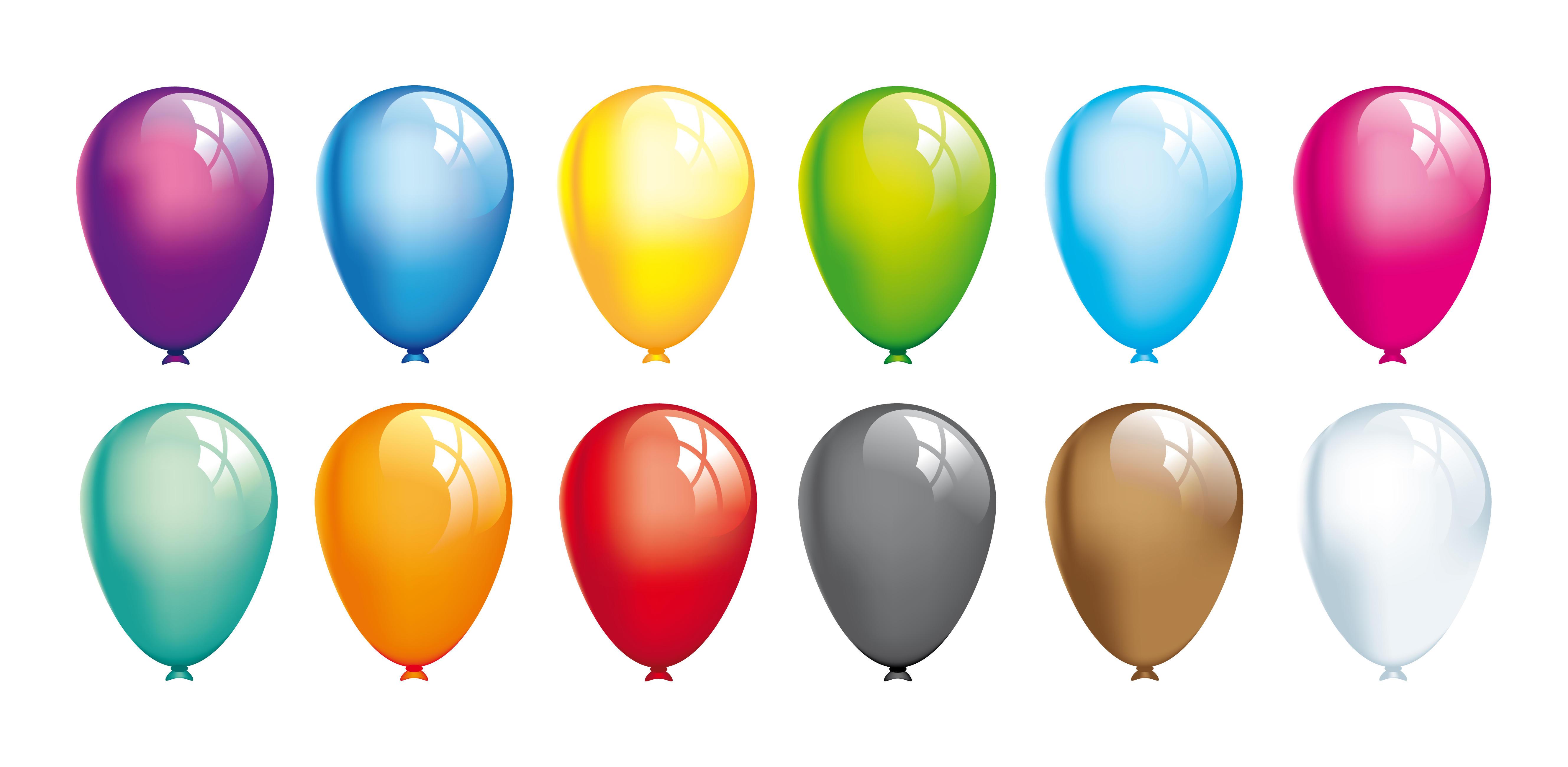 new years balloons clip art - photo #35