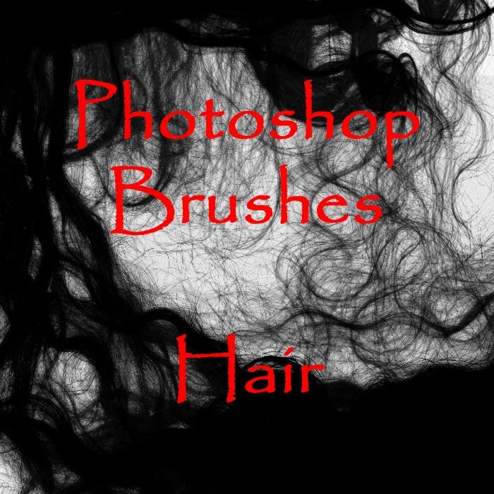 Photoshop HAIR brushes