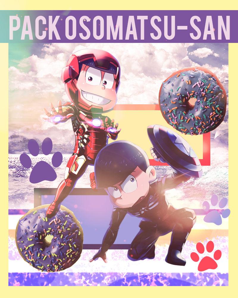 Pack Renders ~ Osomatsu-San