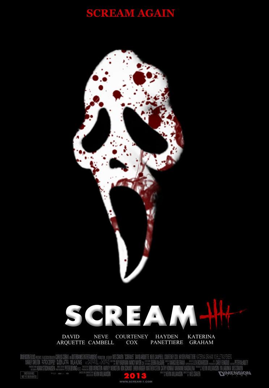 Scream 5 - Poster 1 by Ghostface2000 on DeviantArt