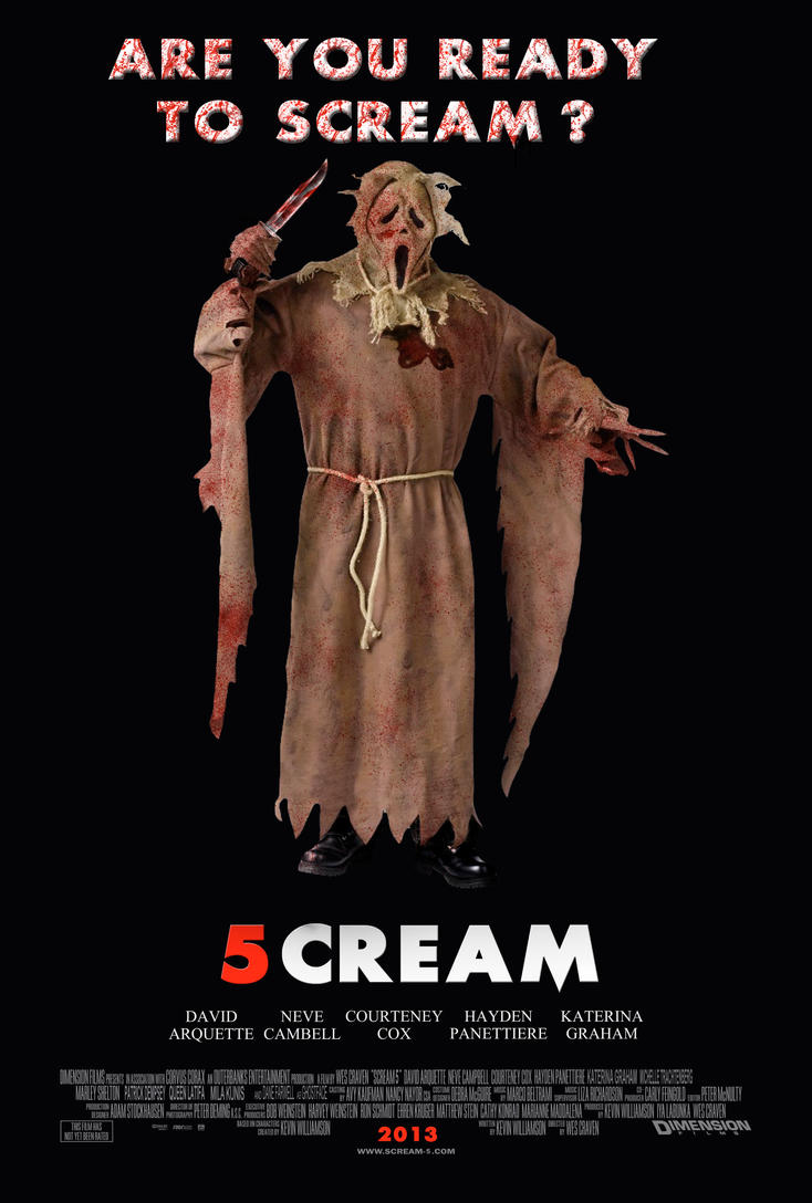Scream 5 - Scarecrow Poster by Ghostface2000 on DeviantArt