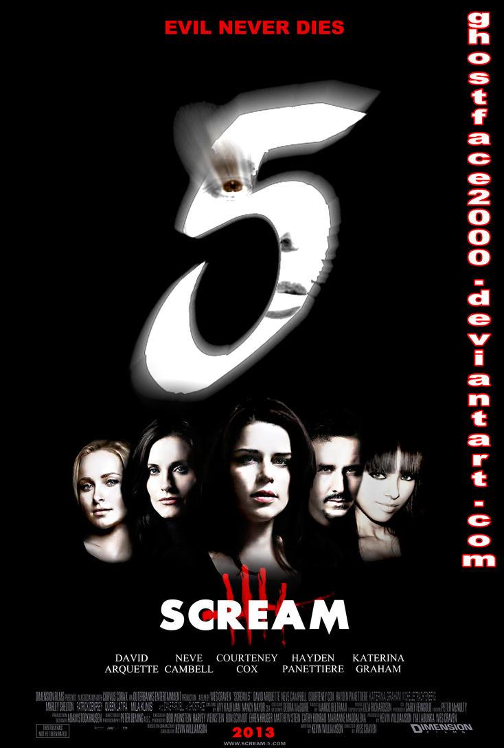 Scream 5 - Cast Poster by Ghostface2000 on DeviantArt
