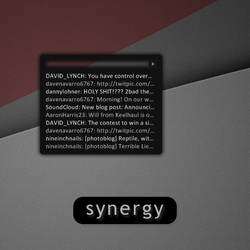 Synergy : Twitter 1.0 by redblackproduction