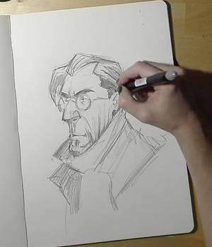 Monsieur Charlatan - Pencil Drawing!