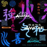 Avatar TLA PS  Brushes