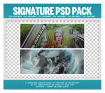Duo Signatures PSD Pack (100 Watchers)