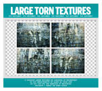 Large Torn Grunge Textures Pack