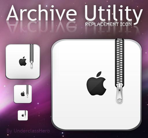 Archive Utility Icon by UnderclassHero on DeviantArt