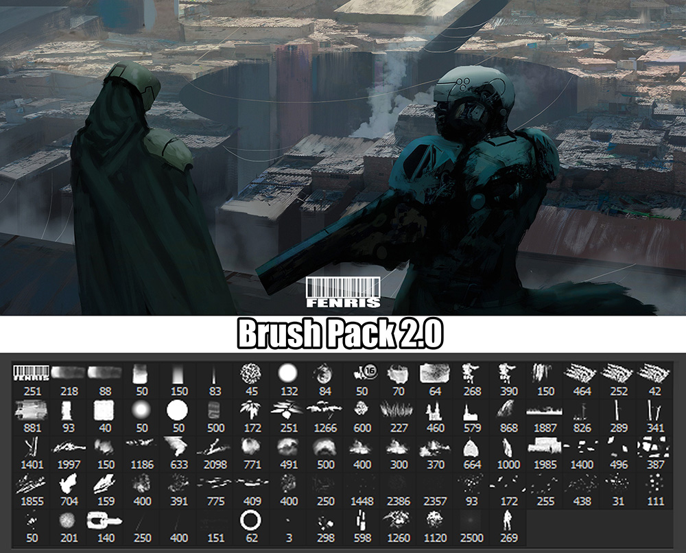 Fenris_Brush_Pack V02 by Fenris31