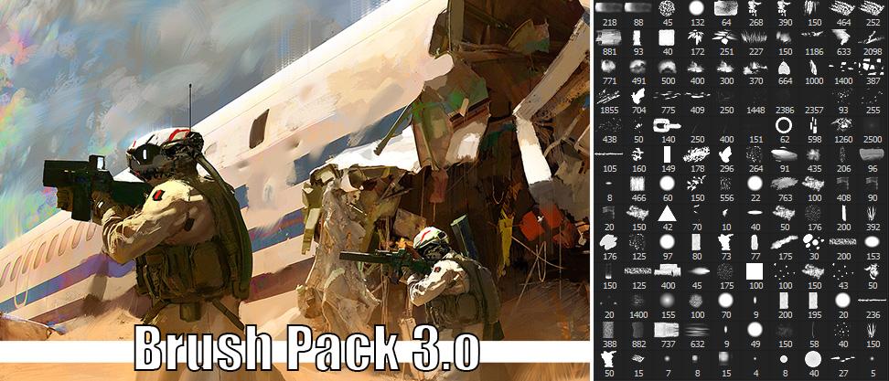 Brush Pack v3 by Fenris31