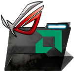 Windows 7 ROG Themed Multi-Purpose Folder Icon 2 by MykSilentShadow