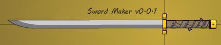 Sword Maker v0.0.1