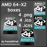 AMD 64-X2 Icon pack