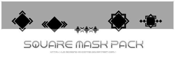 Square Mask Pack by lo-scrigno-di-connie