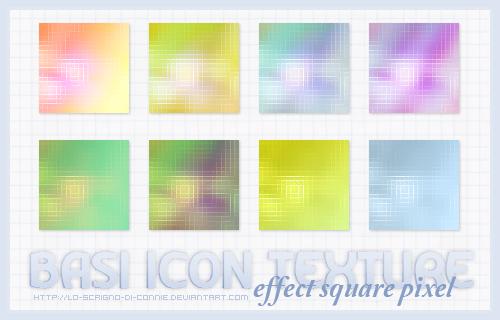 Basi Icon Texture  Effect Square Pixel by lo-scrigno-di-connie