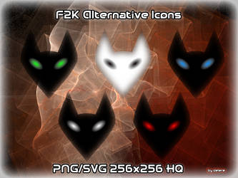 Foobar2000 Alternative Icons by Delere