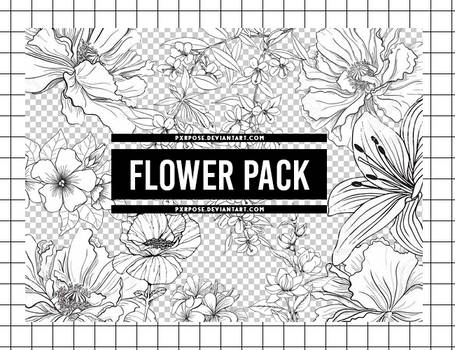 FLOWER PNG PACK