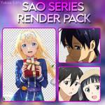 SAO Series Render Pack by nisa-niisan