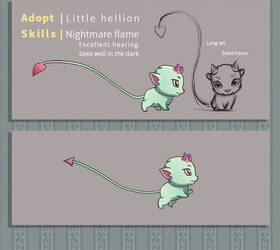 Animated Adopt - Little hellion