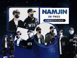 PNG Pack|Namjin (BTS) by jeongukiss