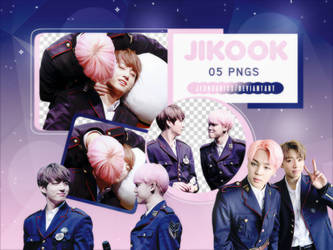 PNG Pack|Jikook #3 (BTS) by jeongukiss