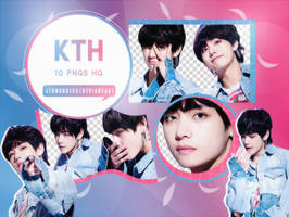 PNG Pack|Taehyung #2 (BTS) by jeongukiss