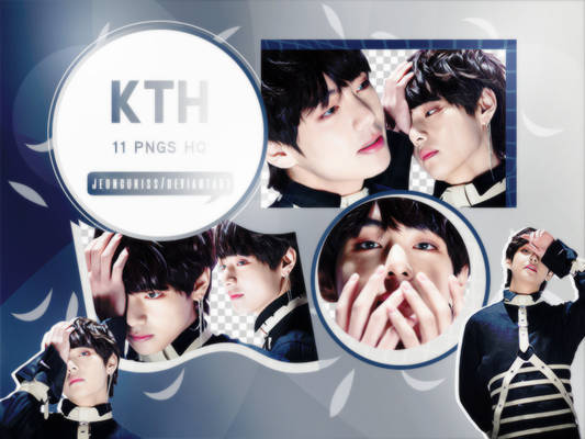 PNG Pack|Taehyung #3 (BTS)