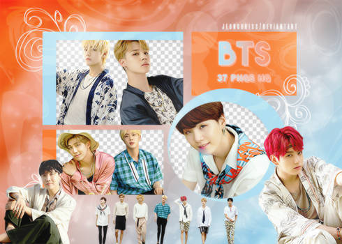 PNG Pack|BTS #9 (Summer Package in Saipan)