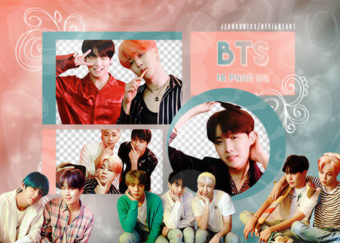 PNG Pack|BTS #13 (MAP OF THE SOUL PERSONA Sketch)