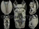 Gargoyle Stock - PNG