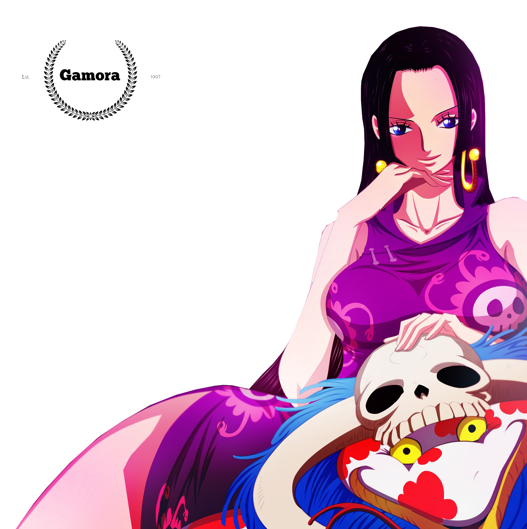 Anime One Piece Wallpaper Hd Boa Hancock By I Sanx By Magamora13 On Deviantart