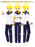 Len Kagamine winter 1.5 (UPDATE read me)