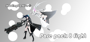 Pose pack 8 - fight