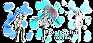 Pose pack 7 - Racing