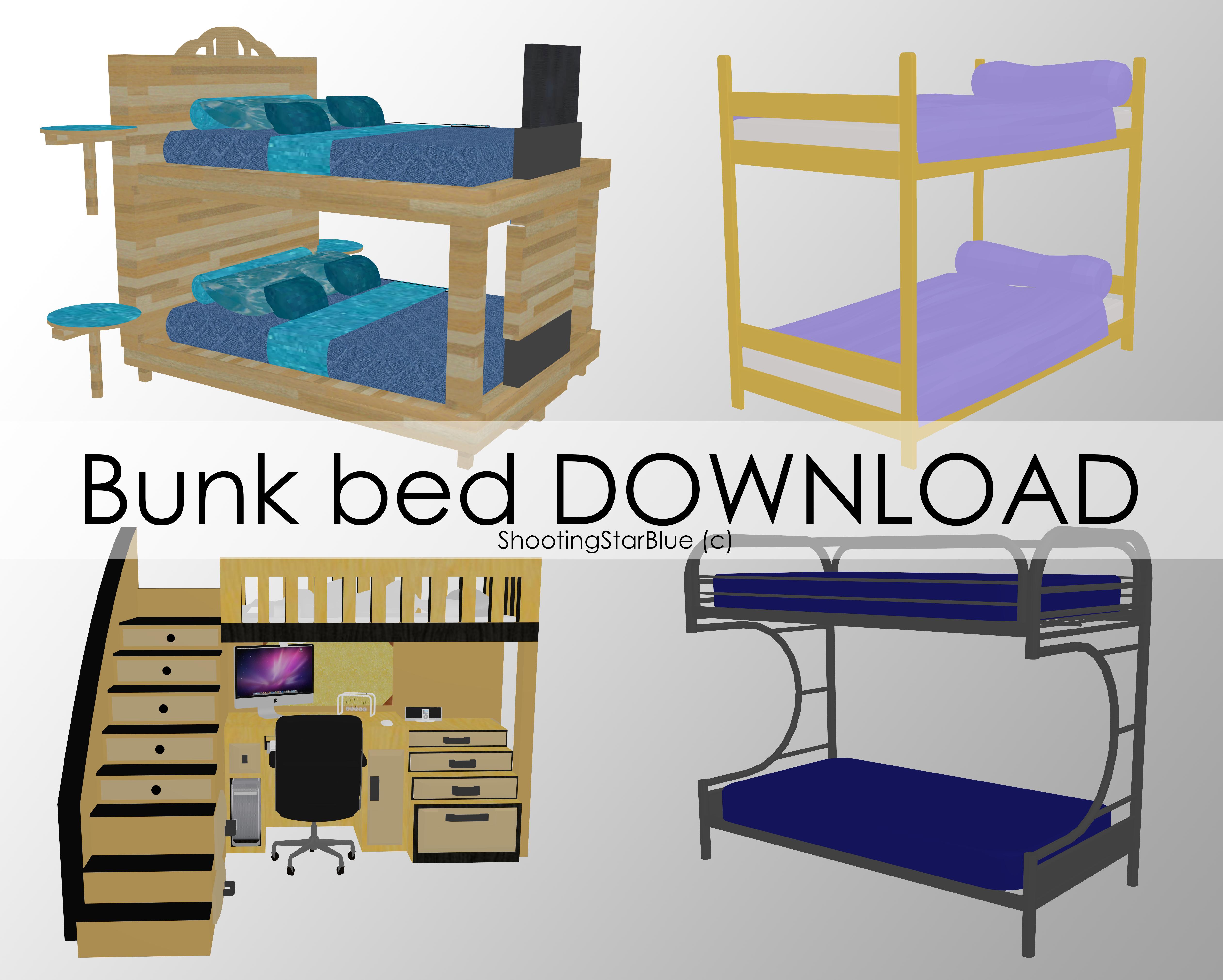Bunk Frame Bed