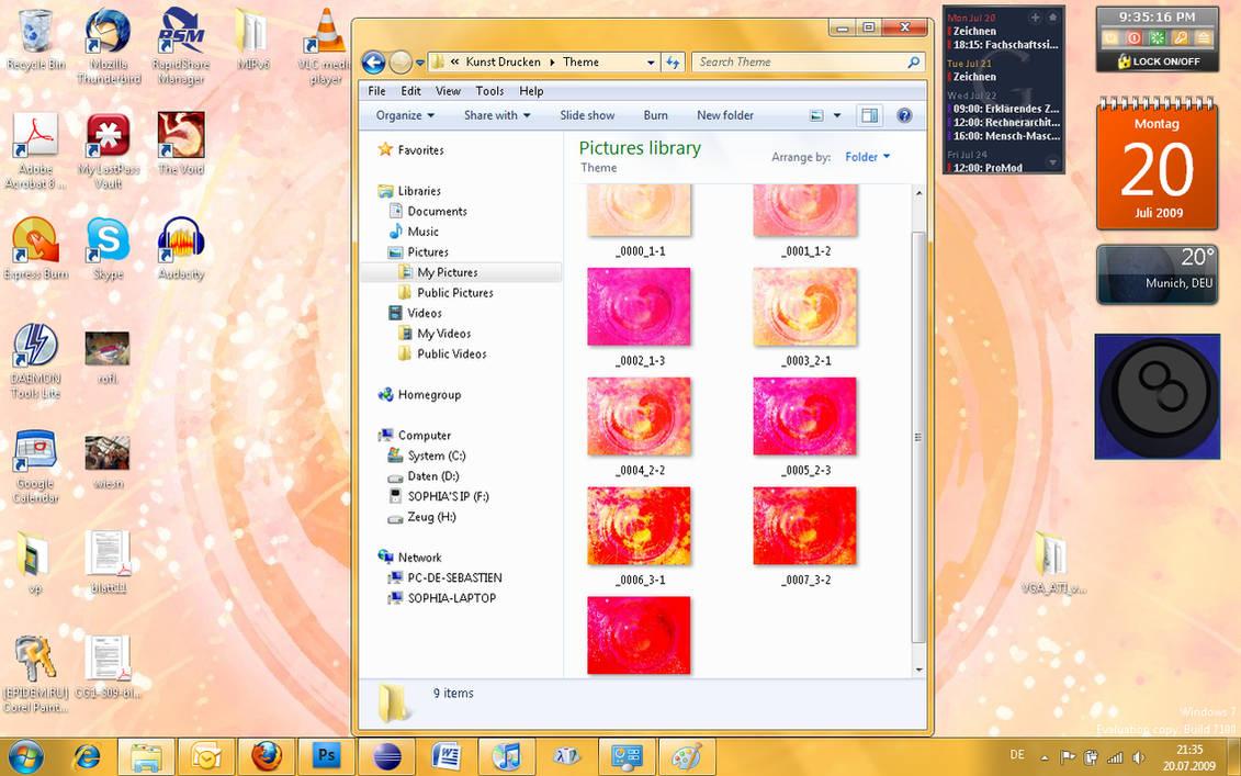 Heart Windows 7 Theme by soffl