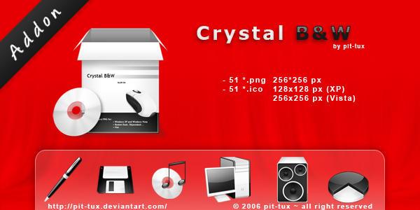 Crystal B and W Addon